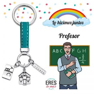 Llavero profesor