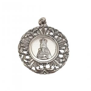 Medalla Virgen de Belén calada